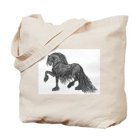 """Friesian Style"" Tote Bag"