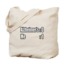 """I'm Beating Alzheimer's"" Tote Bag"