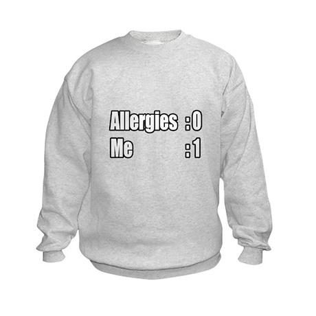 """I'm Beating My Allergies"" Kids Sweatshirt"