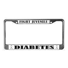 Fight Juvenile Diabetes License Frame