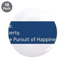 """Cute Liberty 3.5"""" Button (10 pack)"""