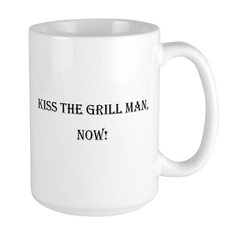 Grill Man Large Mug
