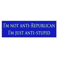Anti-Republican Bumper Bumper Bumper Sticker