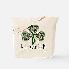 Limerick Shamrock Tote Bag