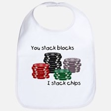 Stellar I stack, you stack Bib