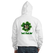 Pinch Me Shamrock Hooded Sweatshirt
