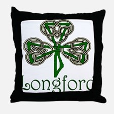 Longford Shamrock Throw Pillow