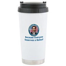 Bank Of Obama Travel Mug