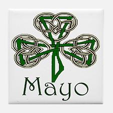 Mayo Shamrock Tile Coaster