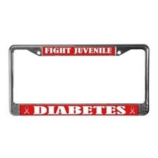 Type 1 Diabetes License Plate Frame