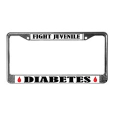 Juvenile Diabetes Awareness License Frame
