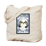 Shih Tzu Puppy Cut Designer Tote Bag
