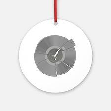 Record Breaker Ornament (Round)