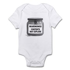 CONTENTS MAY EXPLODE Infant Bodysuit