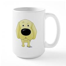 Big Nose/Butt Yellow Lab Mug