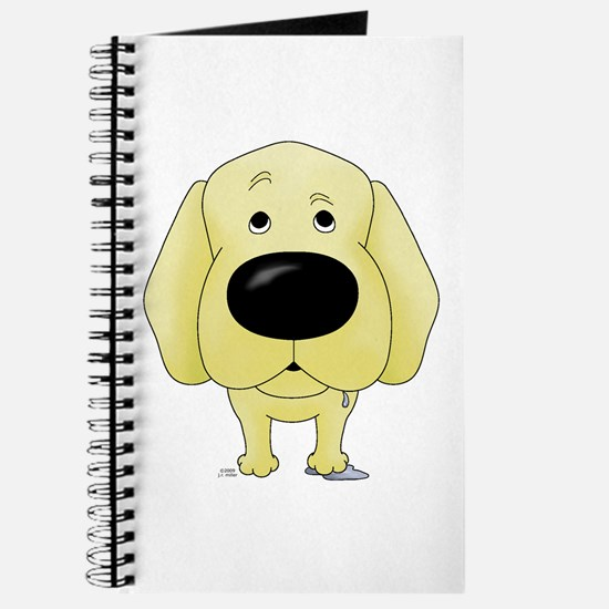 Big Nose Yellow Lab Journal