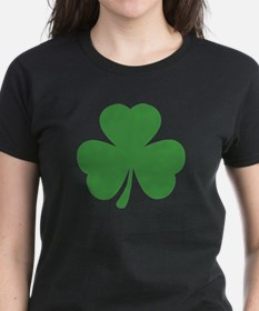 green shamrock irish Tee