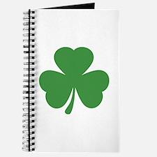 green shamrock irish Journal