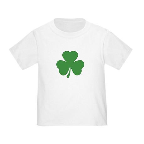 green shamrock irish Toddler T-Shirt
