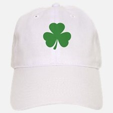 green shamrock irish Baseball Baseball Cap