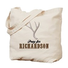 Pray for Richardson Tote Bag