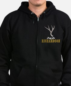 Pray for Richardson Zip Hoody
