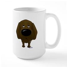 Big Nose/Butt Chocolate Lab Mug
