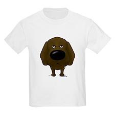 Big Nose/Butt Chocolate Lab T-Shirt
