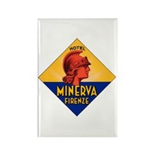 Hotel Minerva Rectangle Magnet