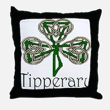 Tipperary Shamrock Throw Pillow