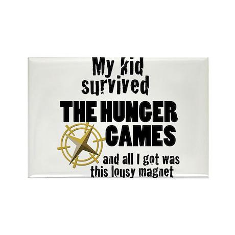 Kid - Hunger Games Rectangle Magnet
