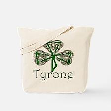 Tyrone Shamrock Tote Bag