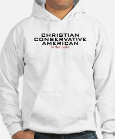 Christian Conservative American Hoodie