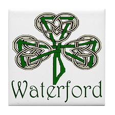 Waterford Shamrock Tile Coaster