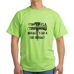 God Bailout Green T-Shirt