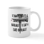 God Bailout Mug