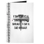 God Bailout Journal