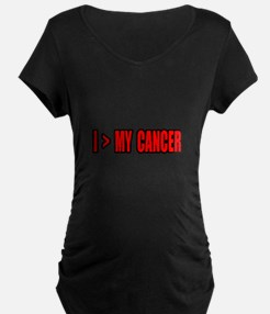 """I Am Greater Than My Cancer"" T-Shirt"