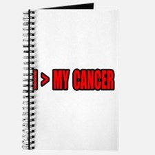 """I Am Greater Than My Cancer"" Journal"