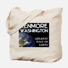 kenmore washington - greatest place on earth Tote