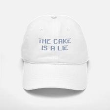The Cake Is A Lie Baseball Baseball Cap