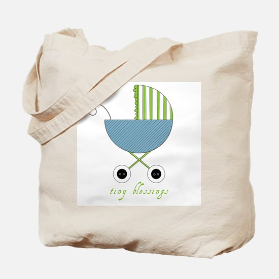 Tiny Blessings Carry All Bag (blue)