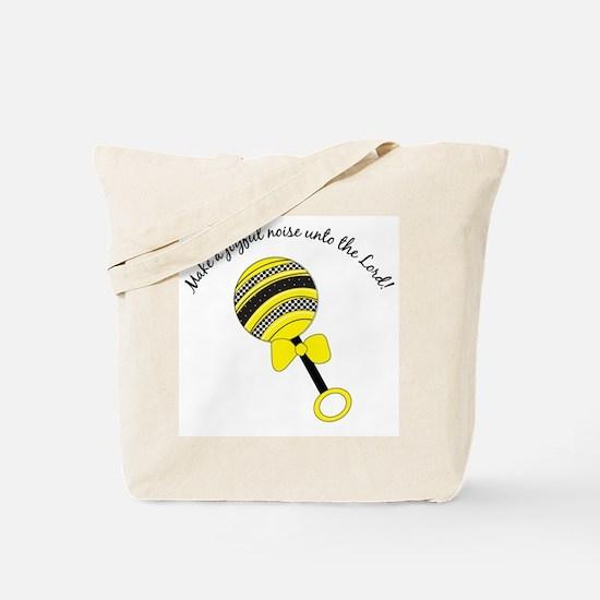 Joyful Noise Carry All Bag (yellow/black)