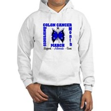 Colon Cancer Month Hoodie