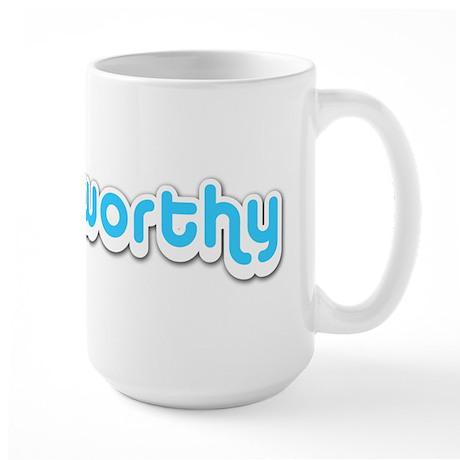 Tweetworthy - Large Mug