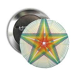 Curvy rainbow pentagram 2.25