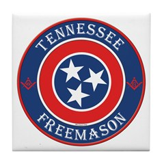 Tennessee Masons Tile Coaster