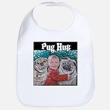 Pug HUG Bib