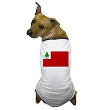 New England Flag Dog T-Shirt