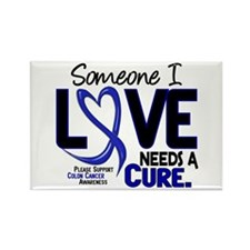 Needs A Cure 2 Colon Cancer Rectangle Magnet